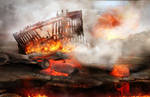 hell landscape background 4 by LadiaHidoi