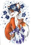 Fox in a Kimono