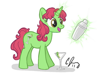 Candy Appletini by Candy-Janney