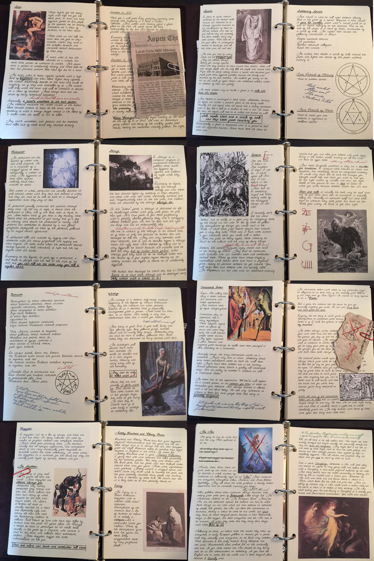 My Hunter's Journal UPDATED by Candy-Janney