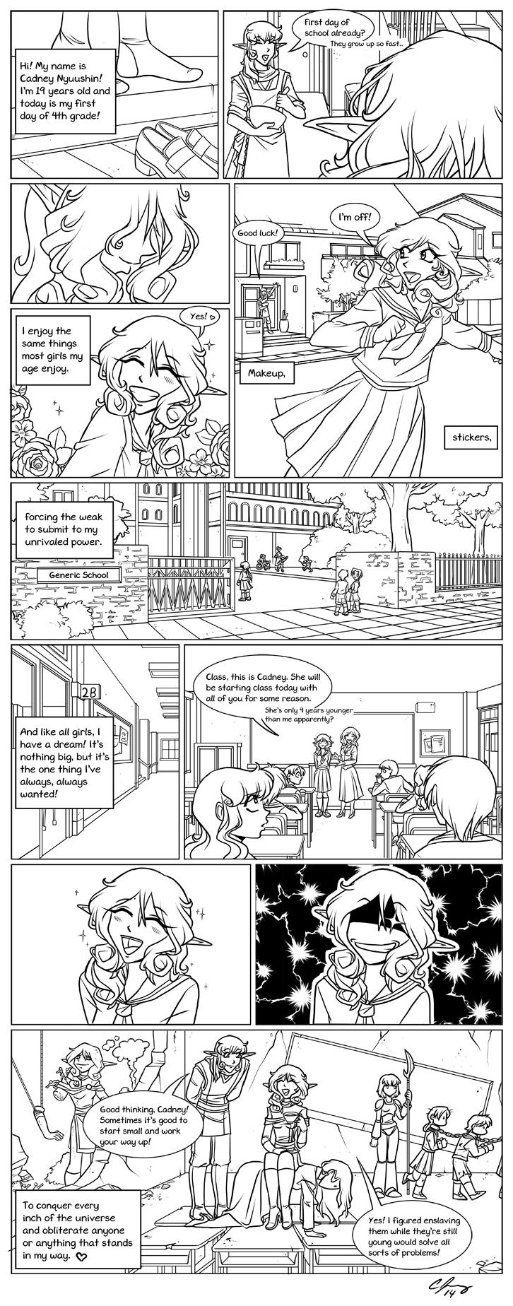 Meet Cadney Star Souperz Comic by Candy-Janney