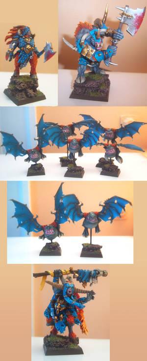 Warhammer Beastmen Models