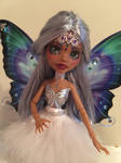 OOAK Monster High Repaint Faceup Odette Clawdeen