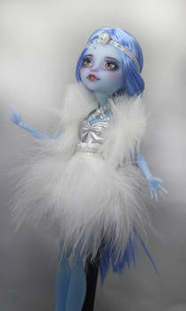Monster High Faceup Snow Queen