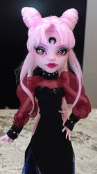 Wicked Lady Sailor Moon Monster High Faceup by Candy-Janney