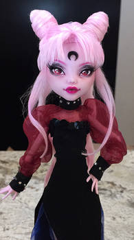 Wicked Lady Sailor Moon Monster High Faceup