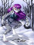 Jezabelle the Snow Leopard