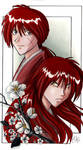 Kenshin and Battousai