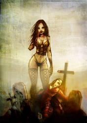 vampire by diegocalavera