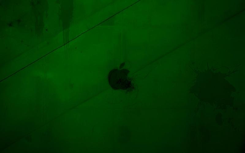 Apple green wallpaper by JarekZ