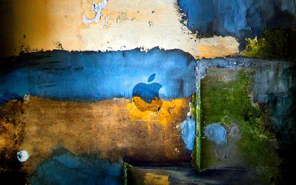 Apple colour wall 2