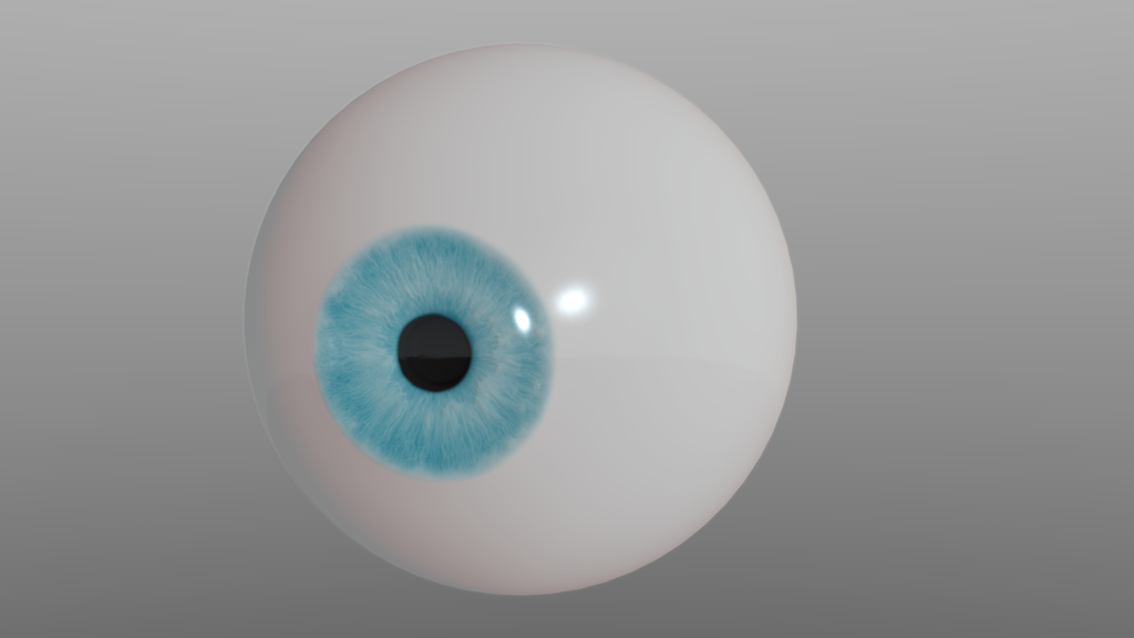 Realistic Character Modeling Blender : Realistic eye blender d practice test by ronthehybrid