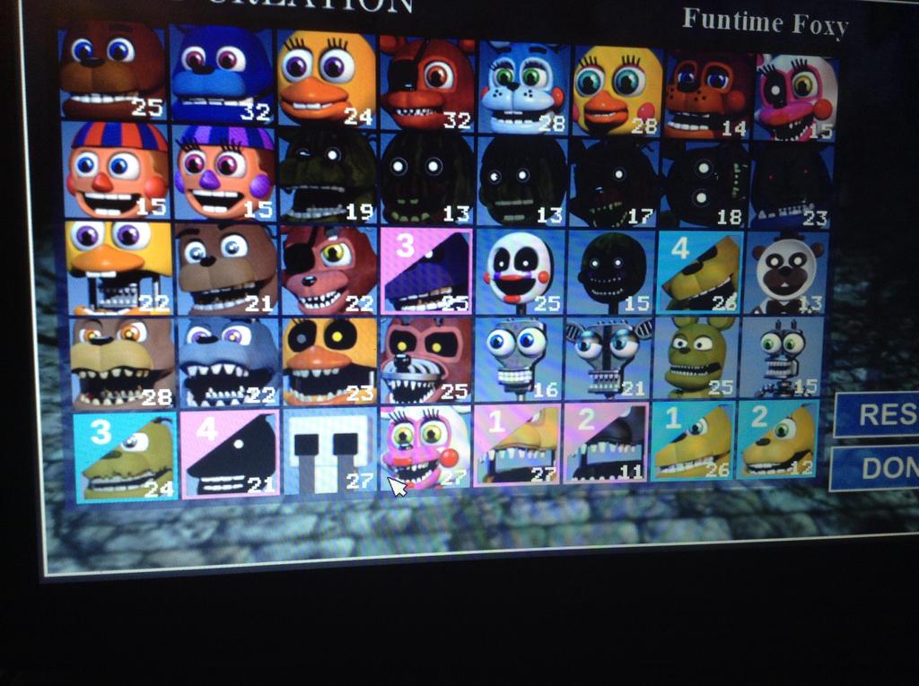 Fnaf World Simulator Unlock All Characters - Fnaf World All