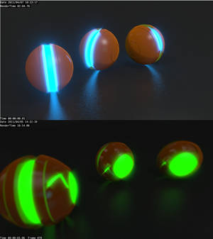 Glow and Balls