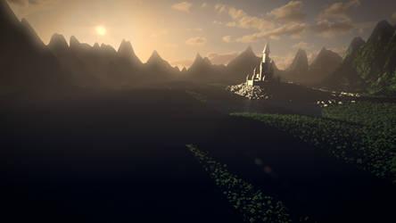 A Yonder Land - The Castle by zabaz