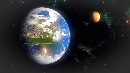 Parallel Earth by zabaz