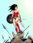 wonder woman  by Branlop