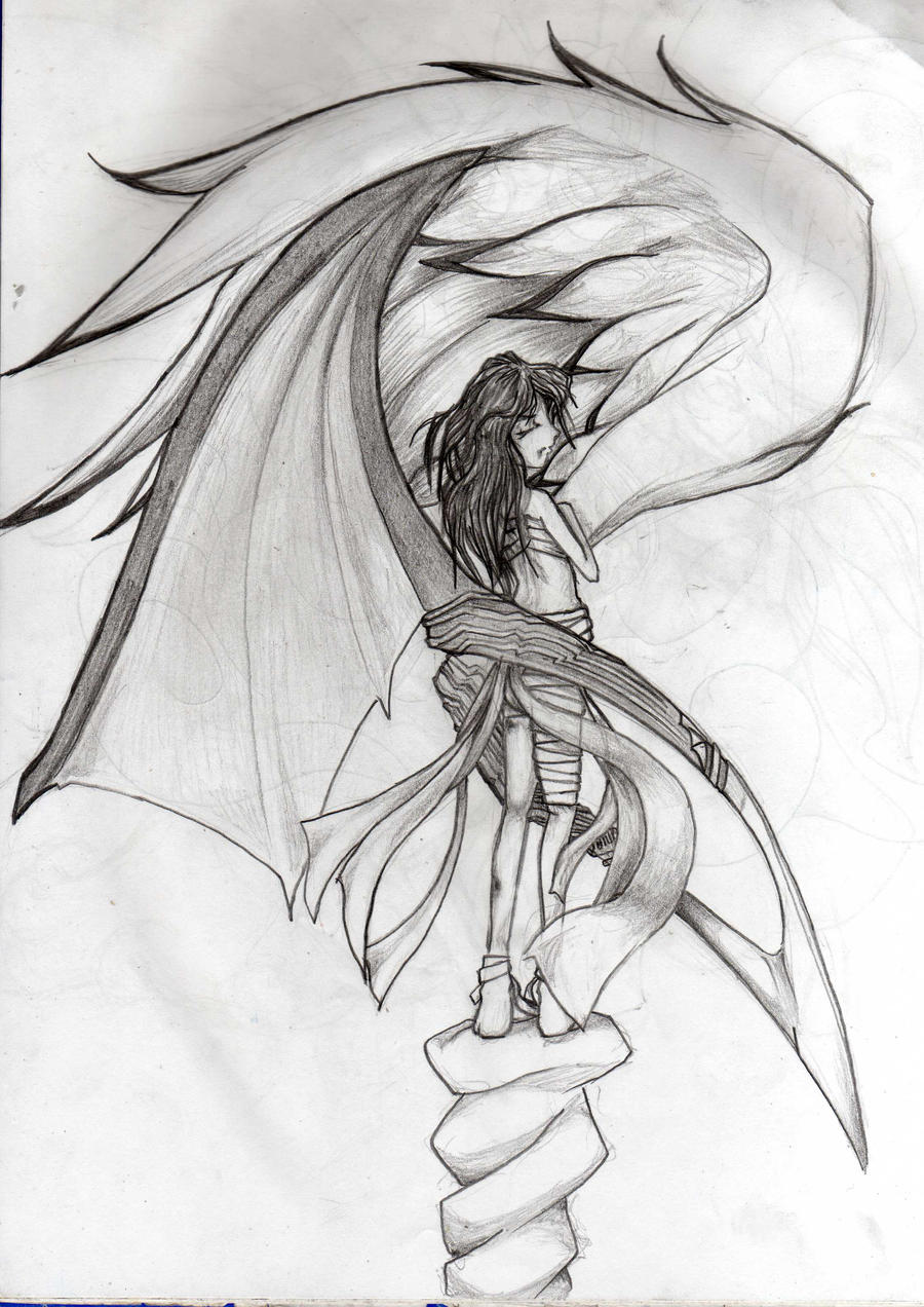 Galería de dibujos Humanity_is_female___sketchy_by_orochii-d3aujxe
