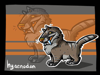 Hyaenodon by circuitRx