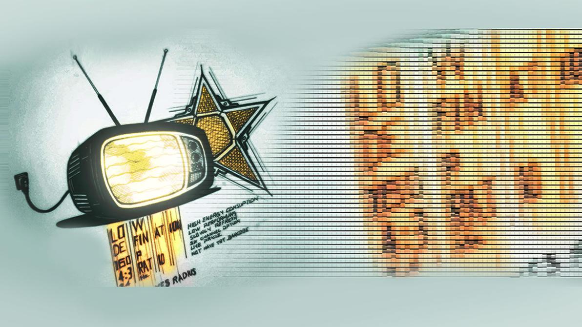 Retro Tv by junkscribe