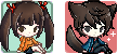 Cutie Pixel Icons (250 point commissions) by CyanDalian