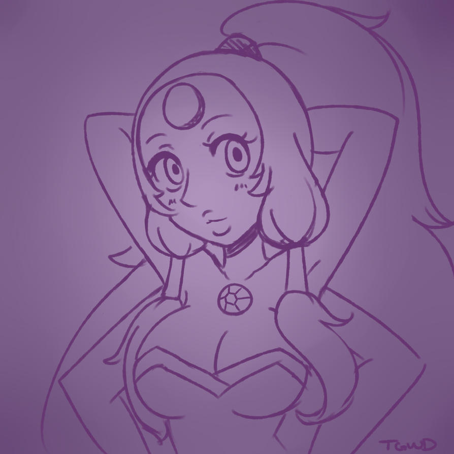 Opal Sketch by that-girl-whodraws