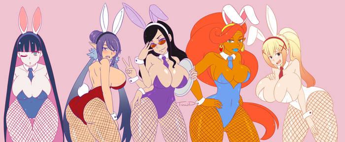 Bunny Girl Cosplay Winners!