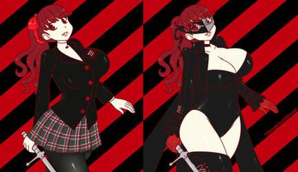 Phantom Thief Kasumi by that-girl-whodraws