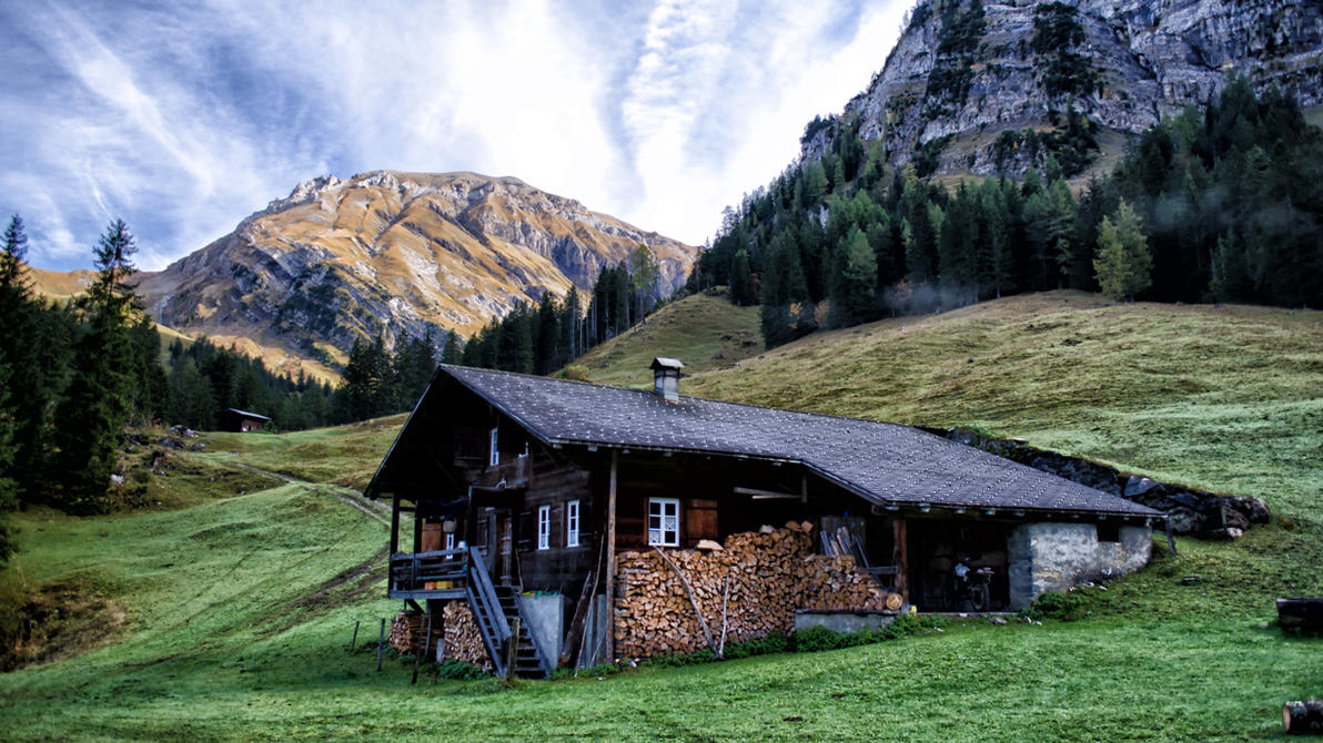 Mountain Hut by daenuprobst