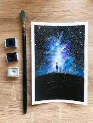 Star gazing  by ManiaRia