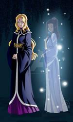Lady Azela and Lady Idria - DR Commission