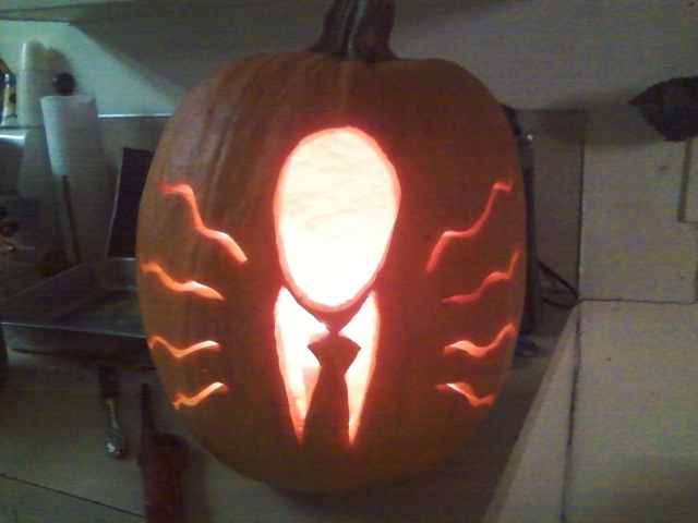 Slender pumpkin by uncleundertaker on deviantart