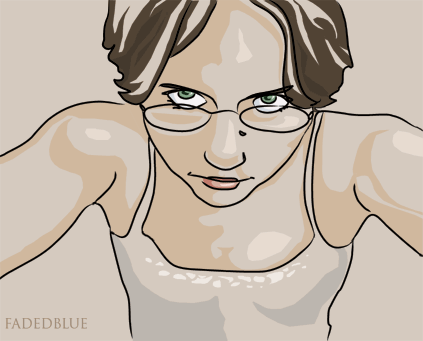 self portrait version vector by fadedblue