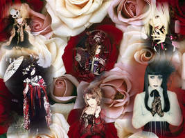 Visual Kei Wallpaper by Crimson-Truth