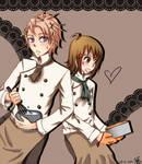 Chihaya and Akari
