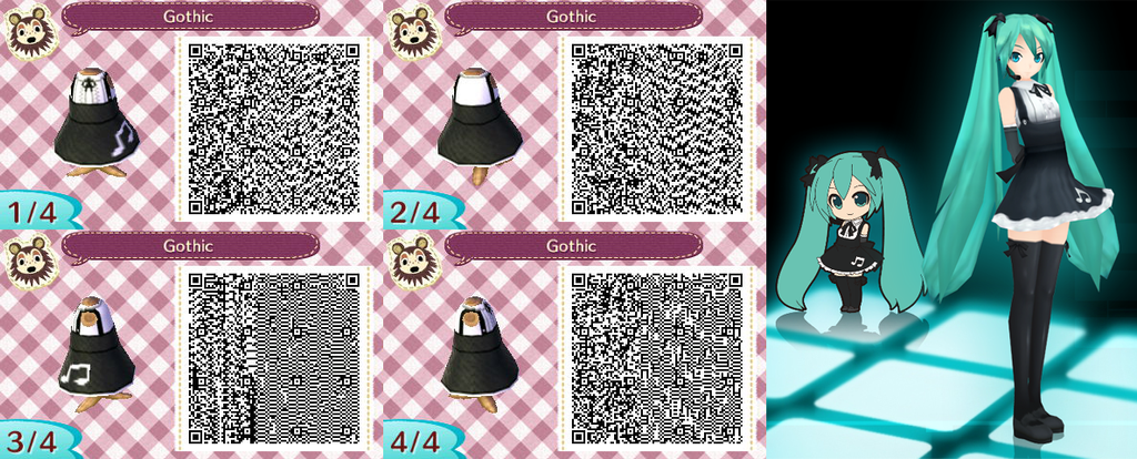 Animal Crossing New Leaf: Gothic by Nevasarini