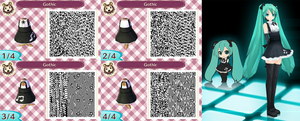 Animal Crossing New Leaf: Gothic by Nevasarini