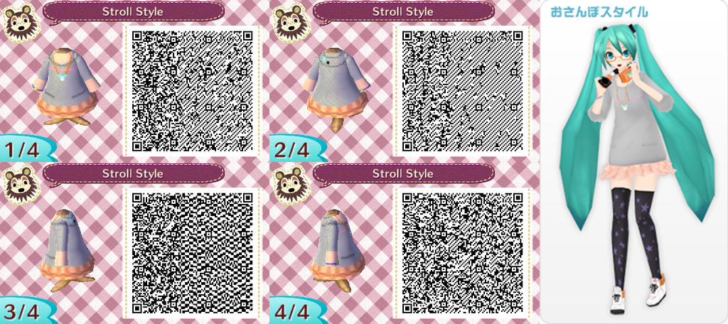 Animal Crossing New Leaf: Stroll Style By Nevasarini On
