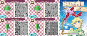 Animal Crossing New Leaf: Young Link (SS Manga)
