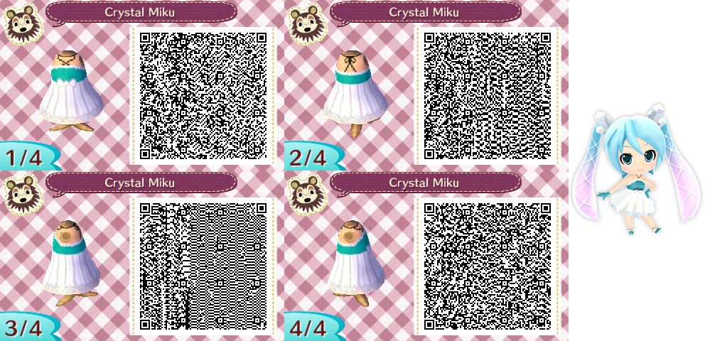 Animal Crossing New Leaf Crystal Miku By Nevasarini On Deviantart