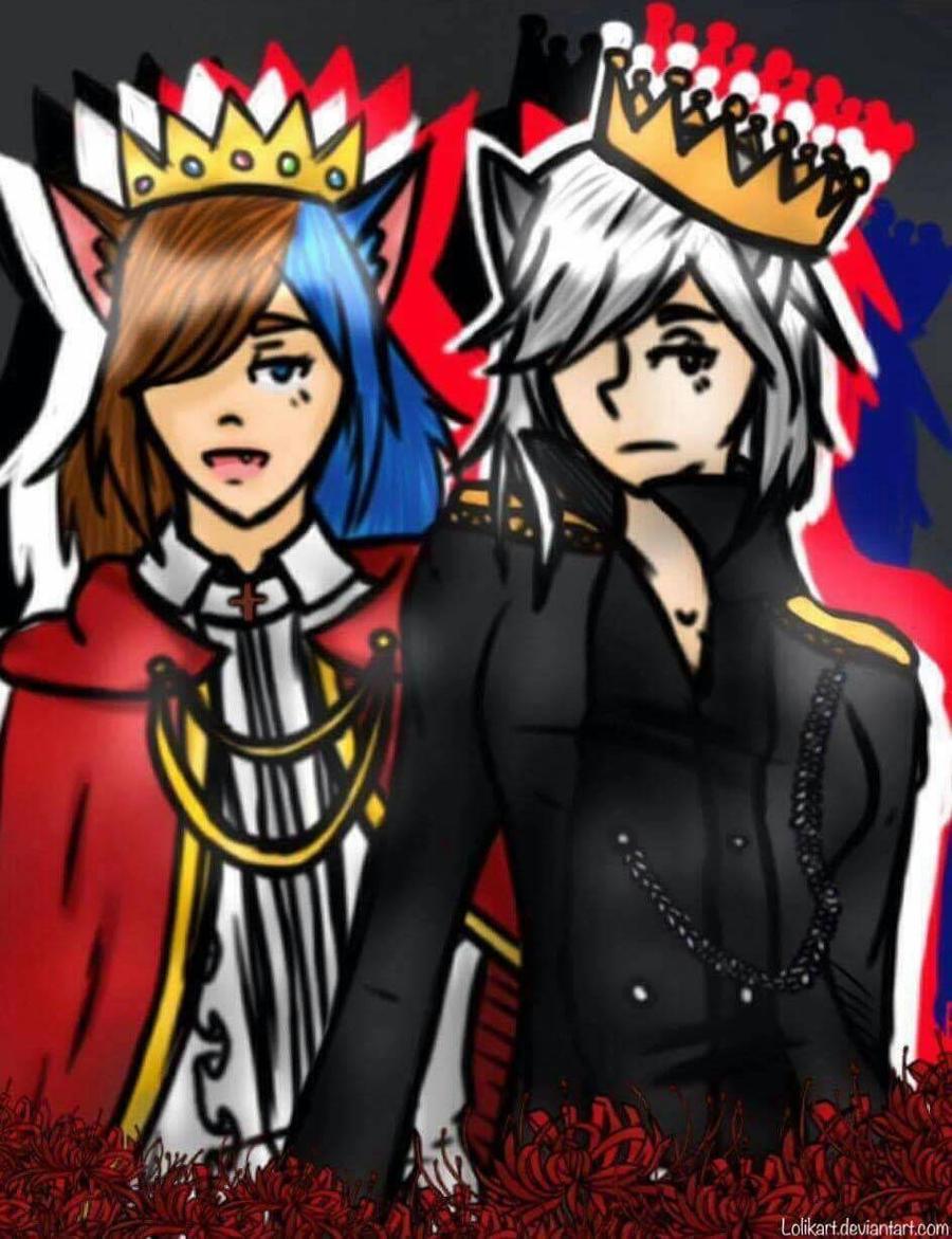 A pair of kings by Lolikart