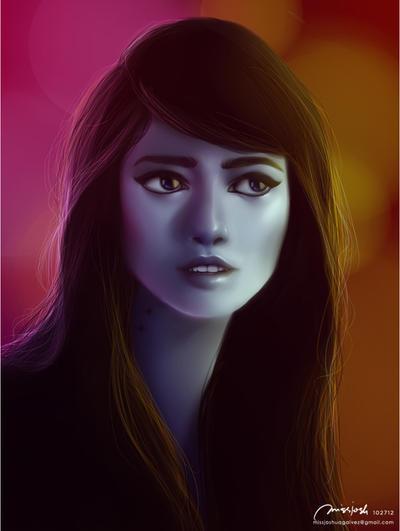 Marceline Abadeer, Vampire Queen by missjosh