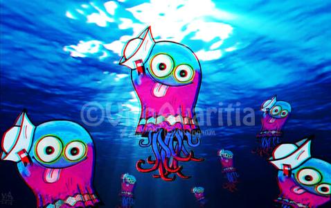 Superfast Jellyfish by VitoGraffito