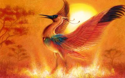 Birth of the Garuda by Ultyzarus