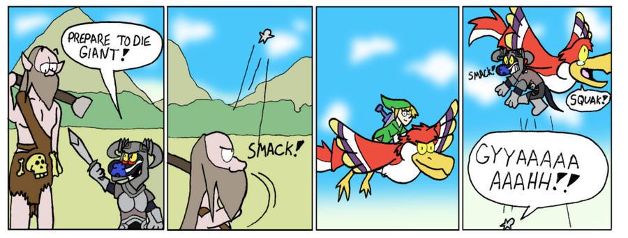 Skyrim/Skyward Sword: I believe I can Fly by GatorArt27