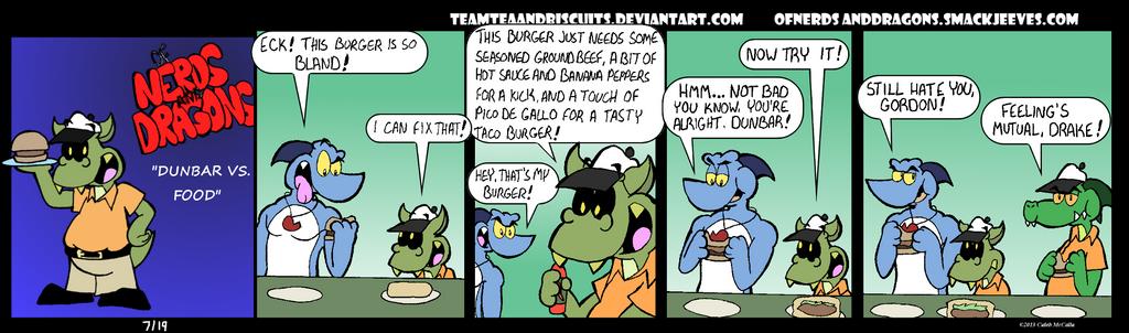 Dunbar vs. Food by GatorArt27