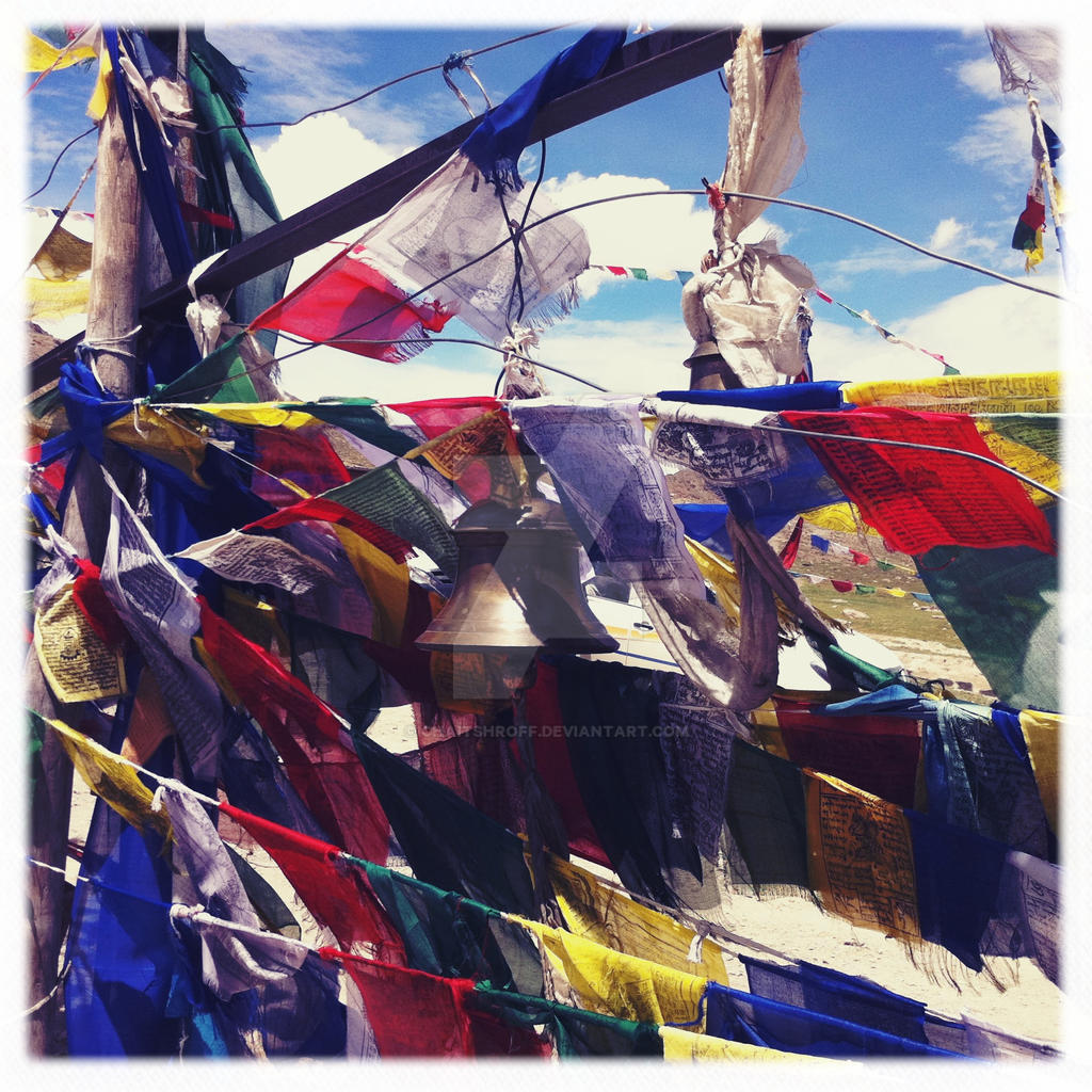 bells and flags by chaitshroff
