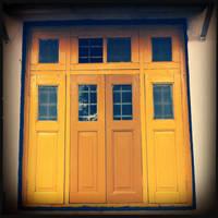 the yellow window by chaitshroff