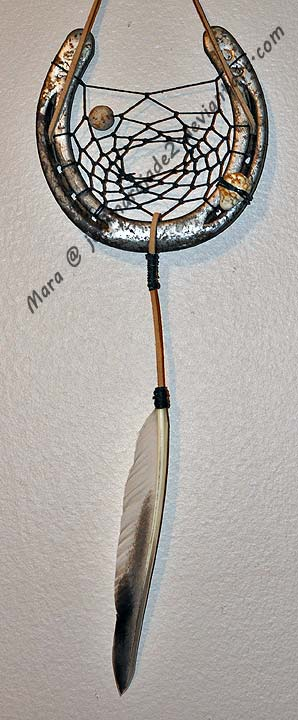 Horseshoe Dreamcatcher 15 by jedimarajade2