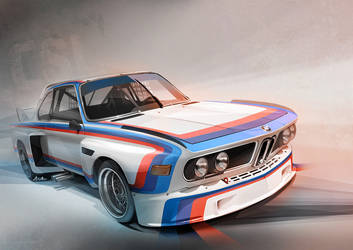 BMW E9 CSL by lockanload